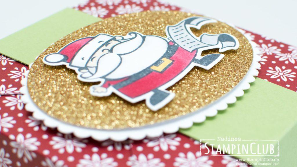 Stampin' Up!, StampinClub, Weihnachtswerkstatt Signs of Santa, Framelits Weg zum Weihnachtsmann. Santas Signpost Framelits, DP Elegante Weihnachten