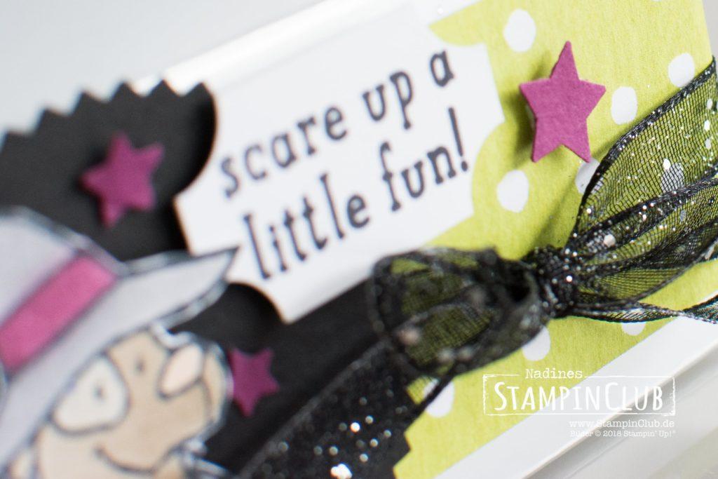 Stampin' Up!, StampinClub, Trick or Tweet, DP Wie verhext
