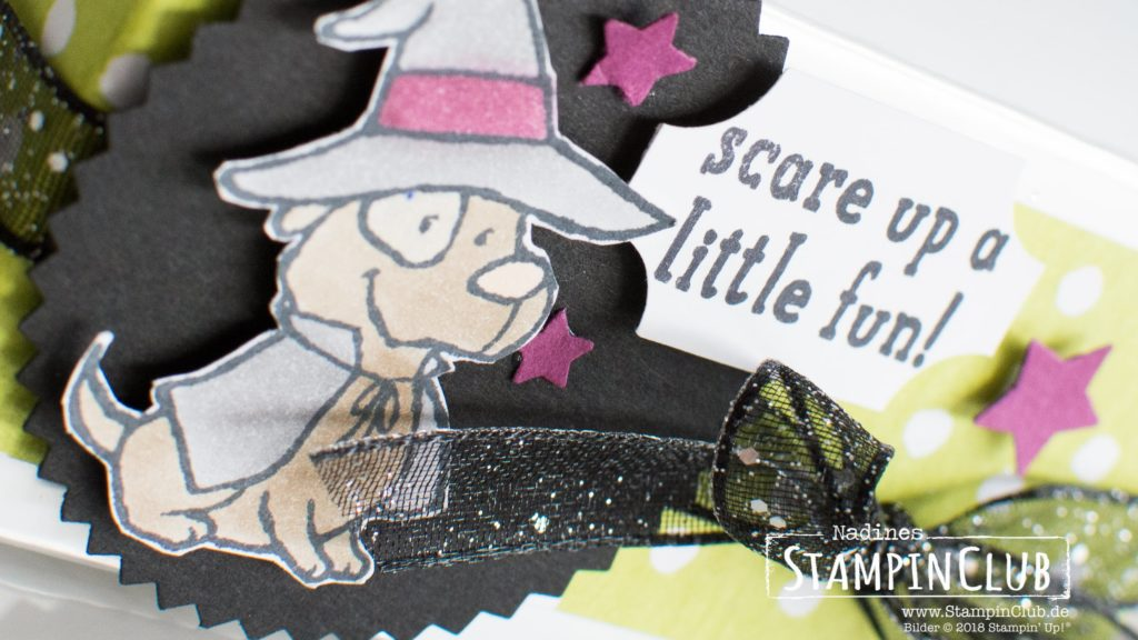 Stampin' Up!, StampinClub, Trick or Tweet, DP Wie verhext