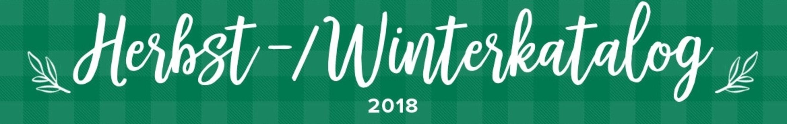 Herbst-/Winterkatalog 2018