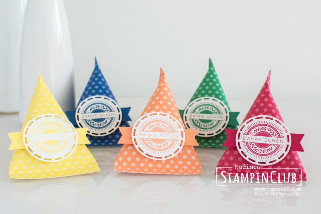 Stampin' Up!, StampinClub, Sour Cream Container, Bestickte Grüße
