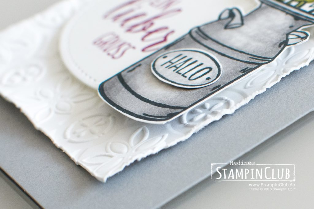 Stampin' Up!, StampinClub, Landleben, Country Home, Tiefen-Prägeform Kachelkunst, Tin Tile Dynamic Embossing Folder
