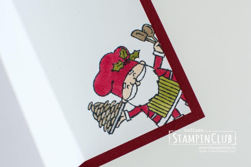 Stampin' Up!, StampinClub, Flip-Flop-Karte, Heiter bis Weihnachtlich, So Santa