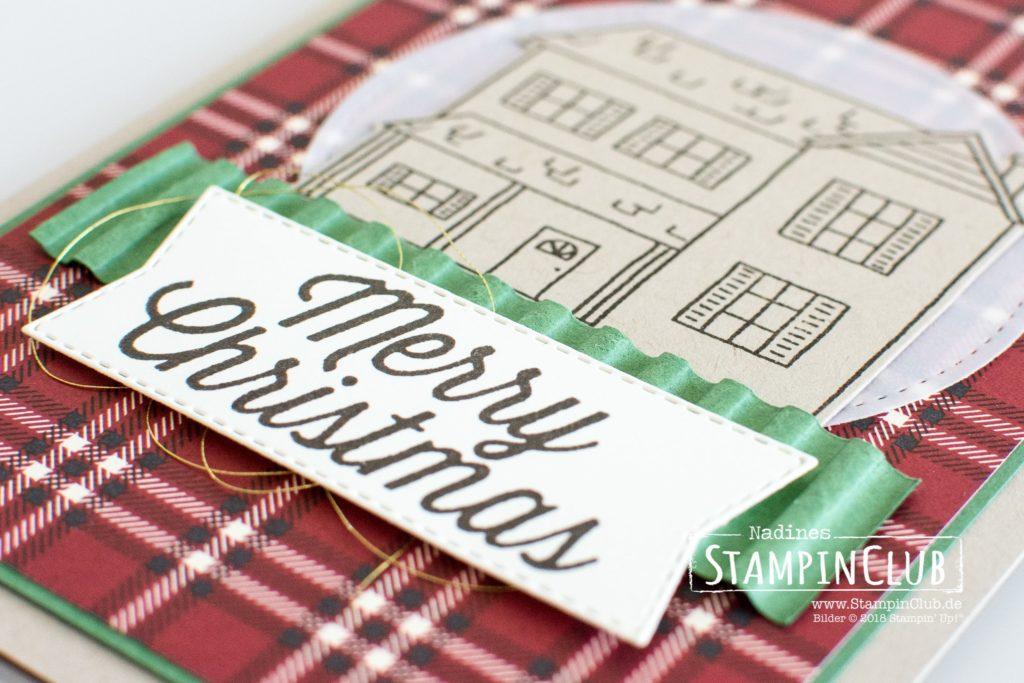 Farmhouse Christmas, Stampin' Up!, StampinClub, Farmhouse Christmas, Farmhaus Framelits, Hüttenromantik