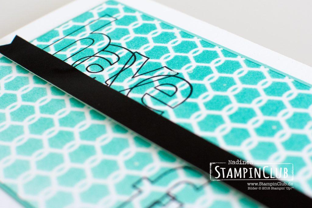 Stampin' Up!, StampinClub, Lined Alphabet, Stamparatus