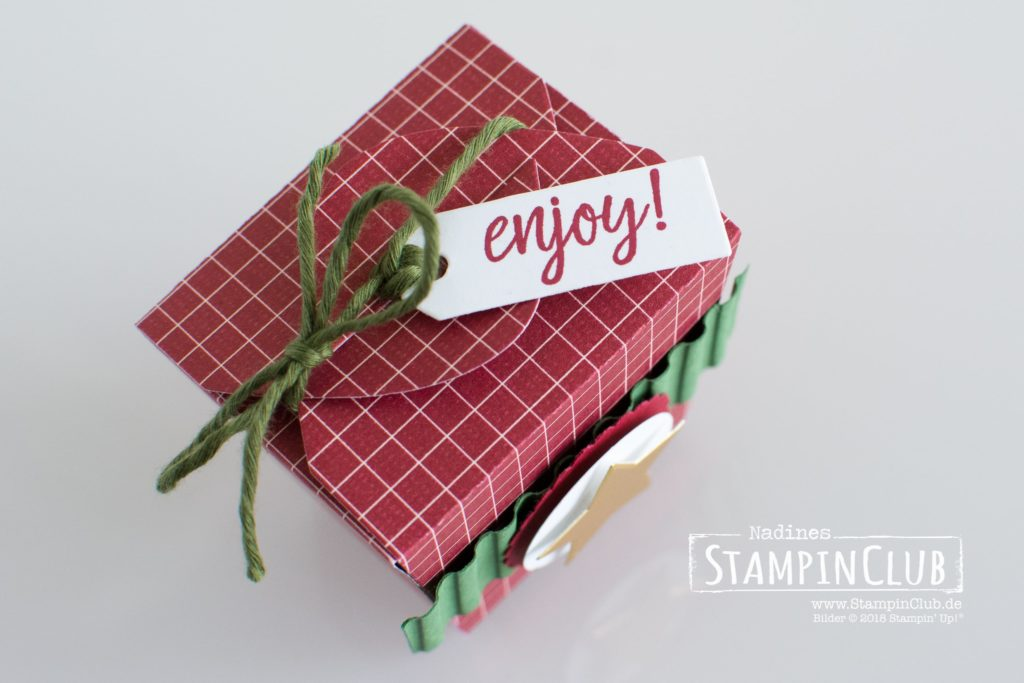 Stampin' Up!, StampinClub, Takeout Treats, Thinlits Formen Zum Mitnehmen, Takeout Thinlits Dies