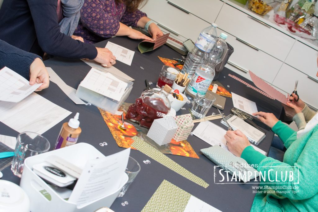 Stampin' Up!, StampinClub, Teamtreffen, Halloween, Stempel-Brunch