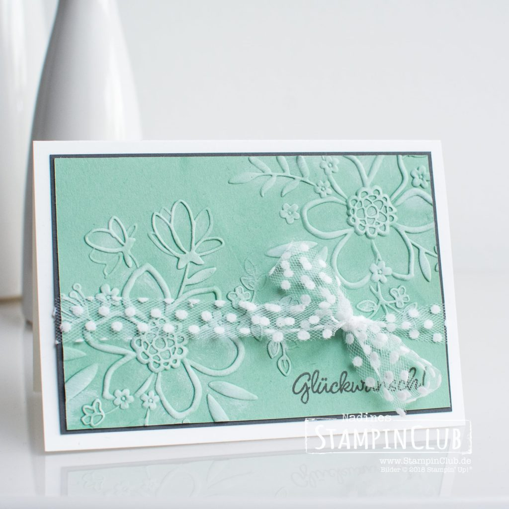 Wunderblume, Stampin' Up!, StampinClub, Wunderblume, Lovely Floral, Glück per Post, Happiness Surrounds