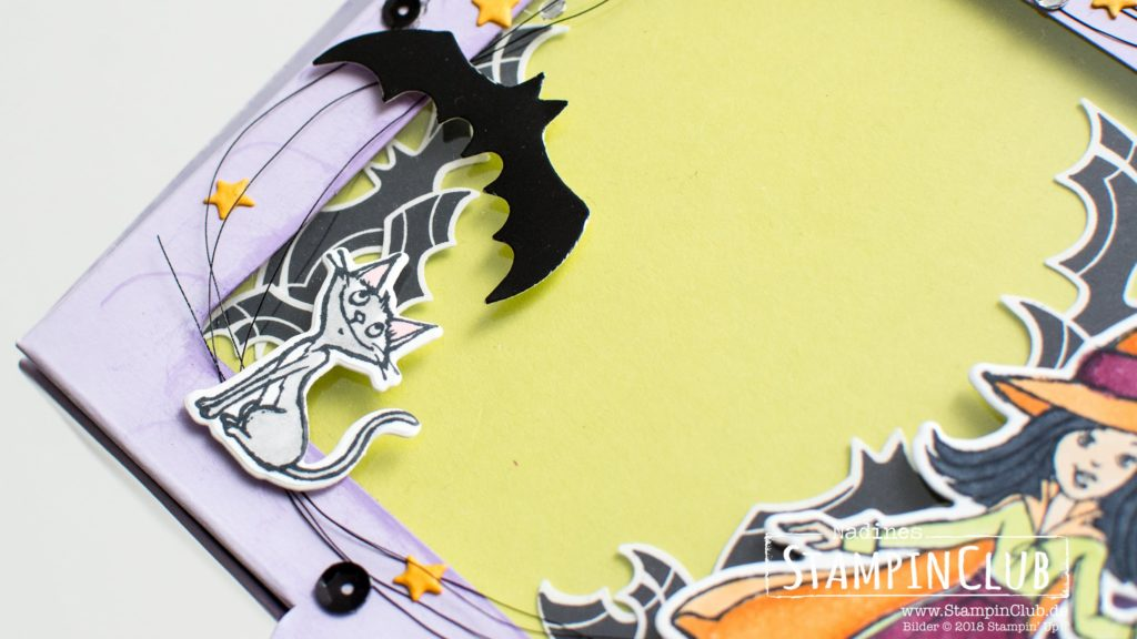 Stampin' Up!, StampinClub, Cauldron Bubble, Donutschachteln, Bakers Boxes, Unheimlich Lecker, Spooky Sweets