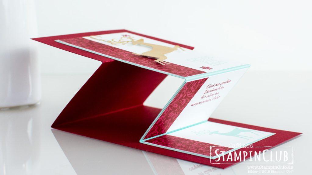 Stampin' Up!, StampinClub, Elegante Weihnachten, Weihnachtshirsch, Dashing Deer