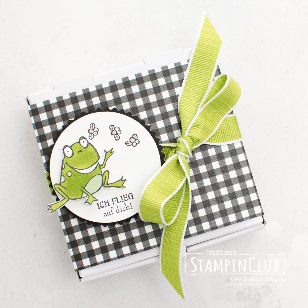 Froschkönig, Stampin' Up!, StampinClub, Sale-A-Bration, Froschkönig, So Hoppy Together, Designerpapier Schmetterlingsvielfalt, Botanical Butterfly DSP