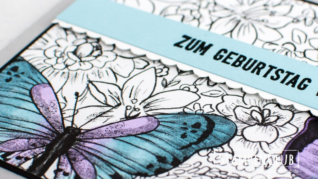 Stampin' Up!, StampinClub, Sale-A-Bration, Designerpapier Schmetterlingsvielfalt, Botanical Butterfly DSP, Geburtstagsmix, Itty Bitty Birthdays