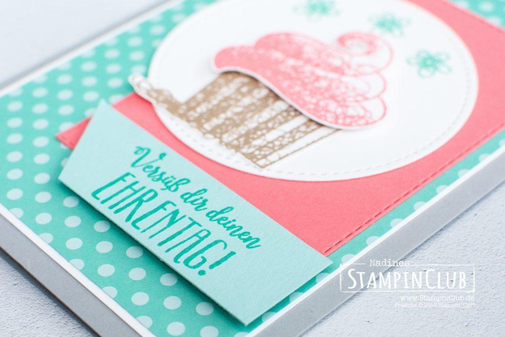 Stampin' Up!, StampinClub, Sale-A-Bration, Süße Grüße für dich, Hello Cupcake, Framelits Formen Bestickte Rechtecke, Rectangle Stitched Framelits Dies