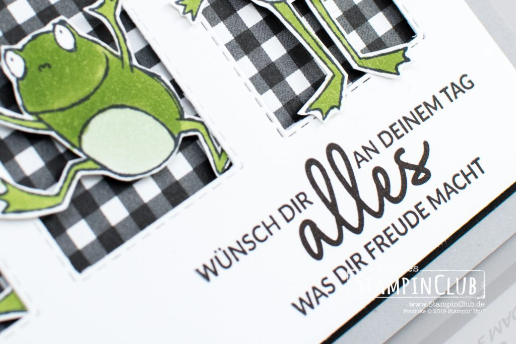 Stampin' Up!, StampinClub, Alles was Freude macht, Incredible Like You, Froschkönig