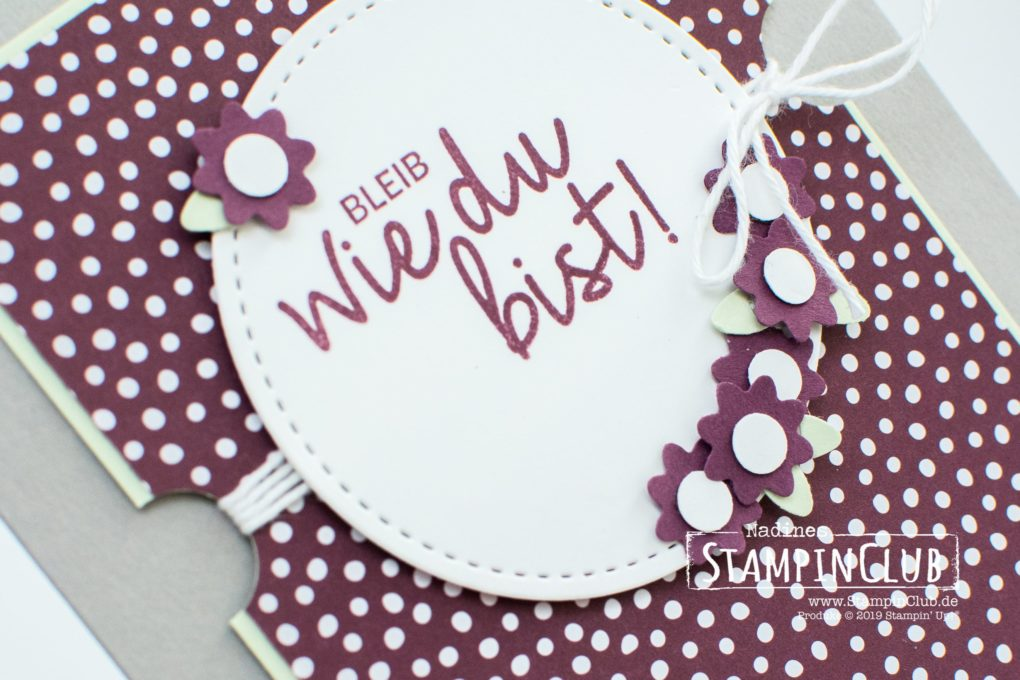 Stampin' Up!, StampinClub, Alles was Freude macht, Incredible Like You, Stanzenpaket Blümchen, Bitty Blooms Punch Pack