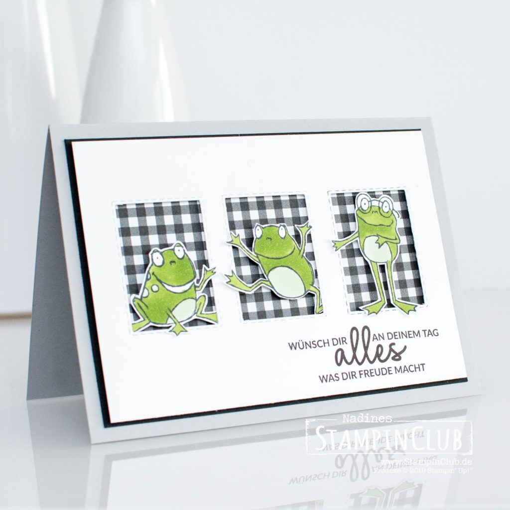 Alles was Freude macht, Stampin' Up!, StampinClub, Alles was Freude macht, Incredible Like You, Froschkönig