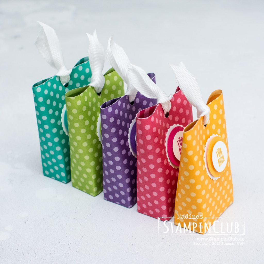 Box in a Bag, Stampin' Up!, StampinClub, Box in a Bag, Verpackung, Kurz gefasst