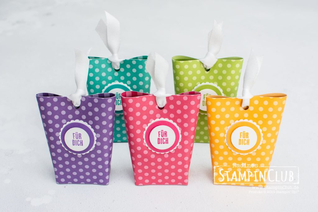 Stampin' Up!, StampinClub, Box in a Bag, Verpackung, Kurz gefasst