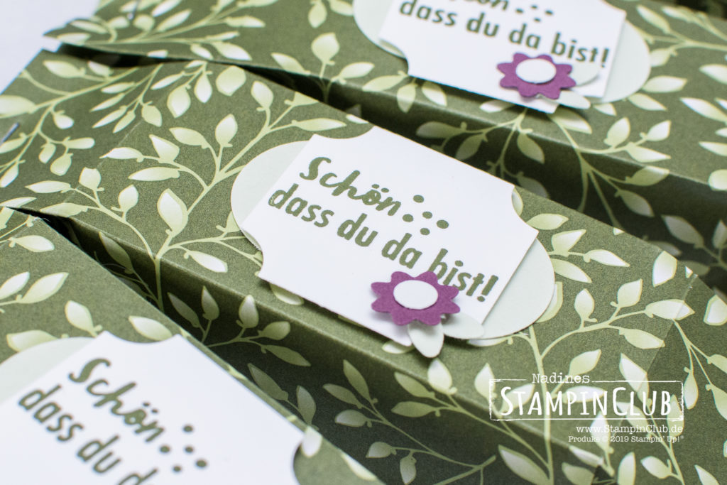 Stampin' Up!, StampinClub, Besonderes Designerpapier Blütensinfonie, Floral Romance Speciality Designer Series Paper, Kleiner Wunscherfüller, Part of my Story