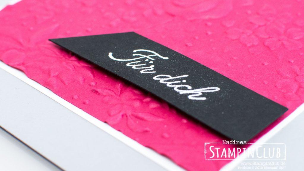Stampin' Up!, StampinClub, Prägeform Feldblumen, Voller Schönheit