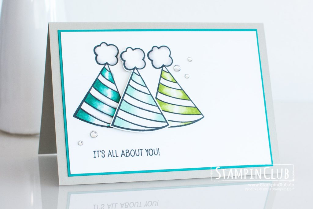 Stampin' Up!, StampinClub, Birthday Cheers, Stampin' Blends