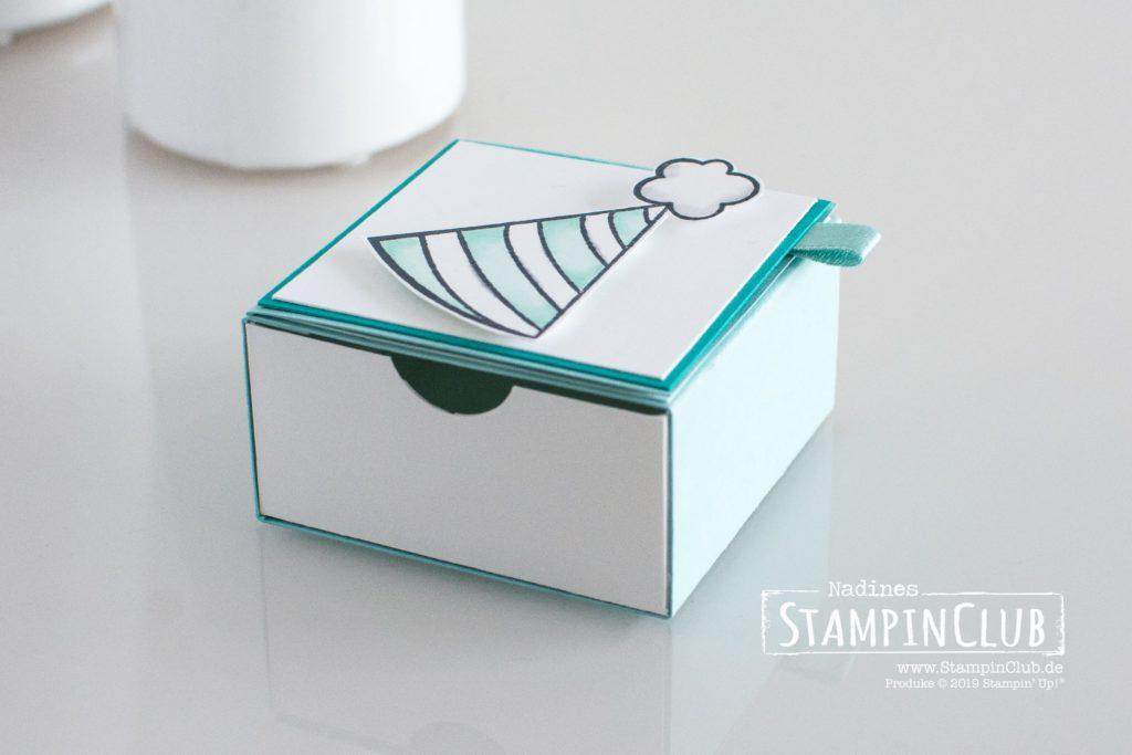 Schubladen-Box, Stampin' Up!, StampinClub, Schubladen-Box, Birthday Cheer