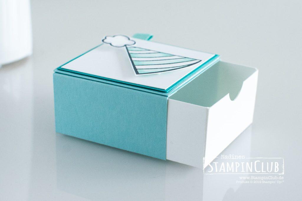 Stampin' Up!, StampinClub, Schubladen-Box, Birthday Cheer