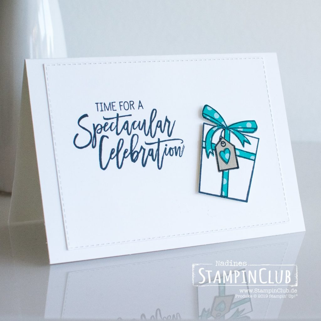 Stampin' Up!, StampinClub, Pop-up Panel Karte, Birthday Cheer, Stempel-Brunch