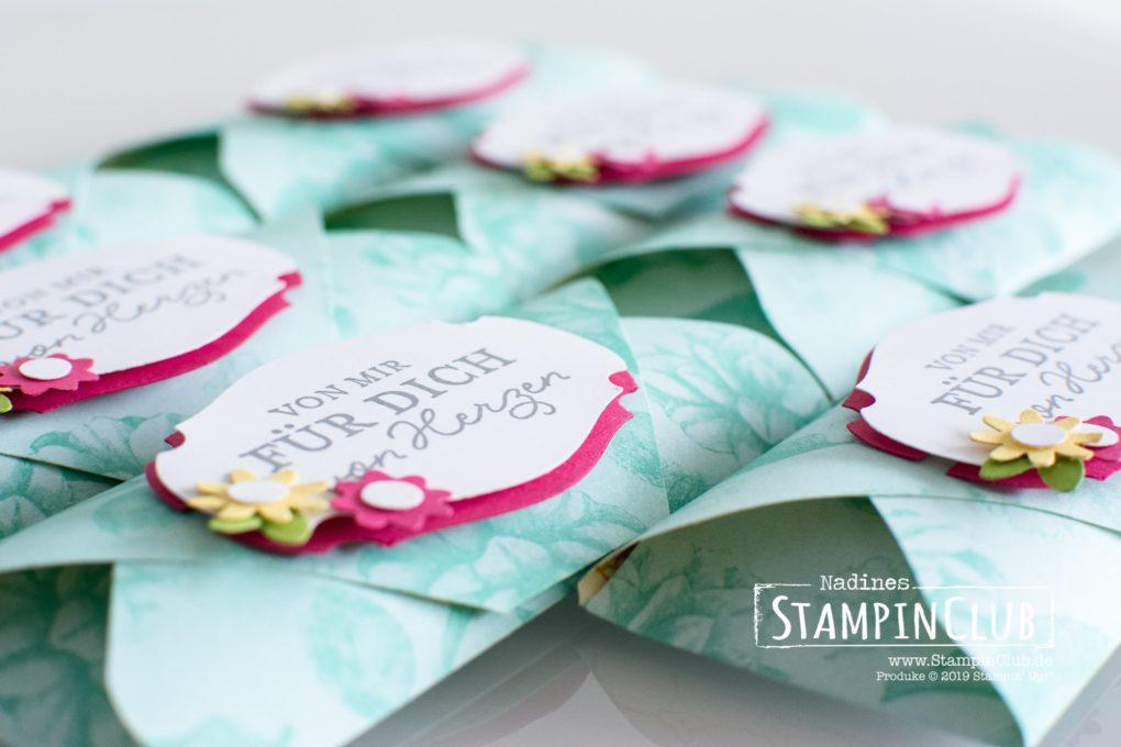 Stampin' Up!, StampinClub, DP Teestube, Stanze Wunsch-Etikett, Einfach so