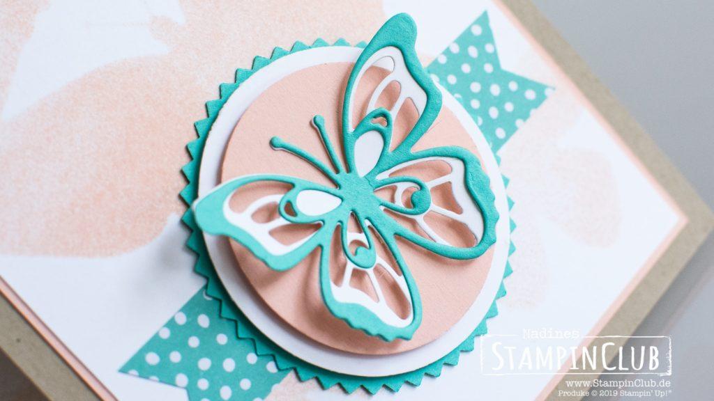 Stampin' Up!, StampinClub, Thinlits Formen Schöne Schmetterlinge, Glücksfälle