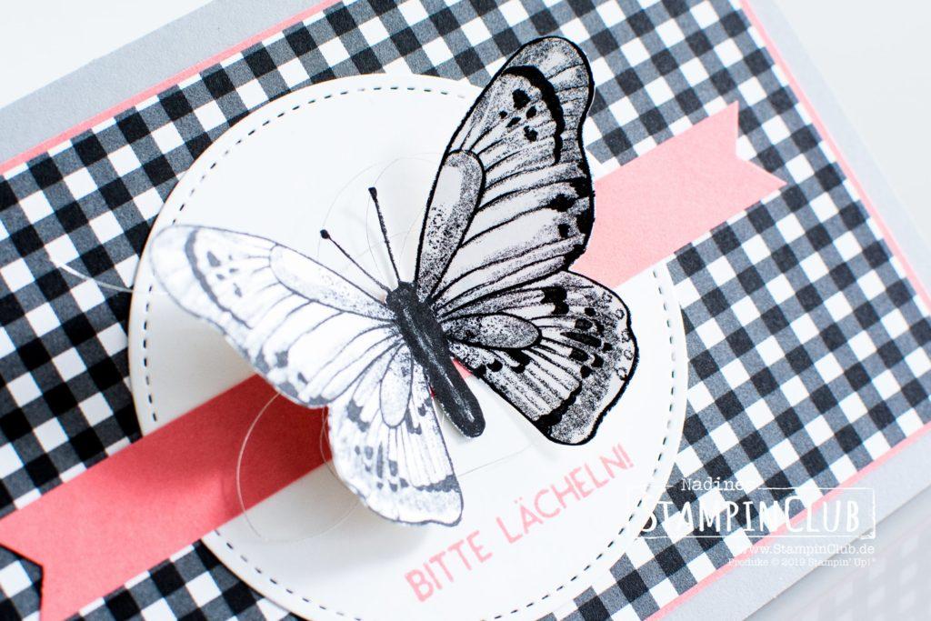 Wortreich, Stampin' Up!, StampinClub, DP Schmetterlingsvielfalt, Wortreich, Framelits Formen Stickmuster
