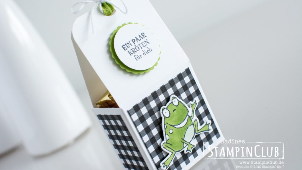 Stampin' Up!, StampinClub, Gable Box, Froschkönig, Schmetterlingsvielfalt