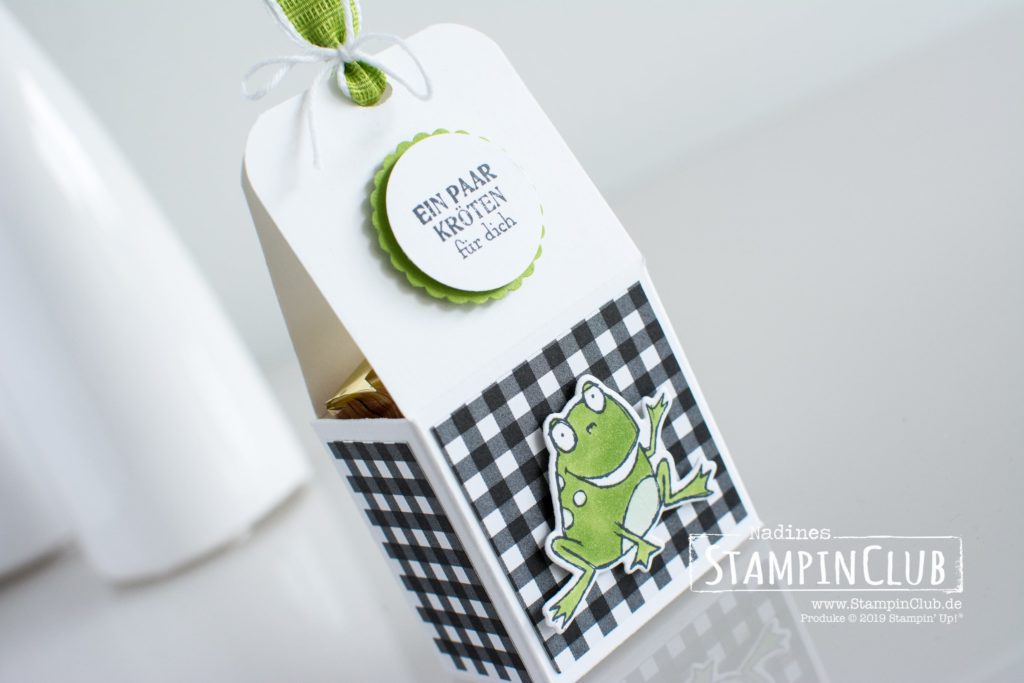Gable Box, Stampin' Up!, StampinClub, Gable Box, Froschkönig, Schmetterlingsvielfalt