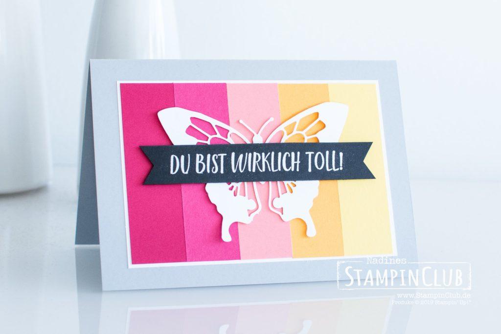 Stampin' Up!, StampinClub, In Schönschrift, Calligraphy Essentials, Color Blocking