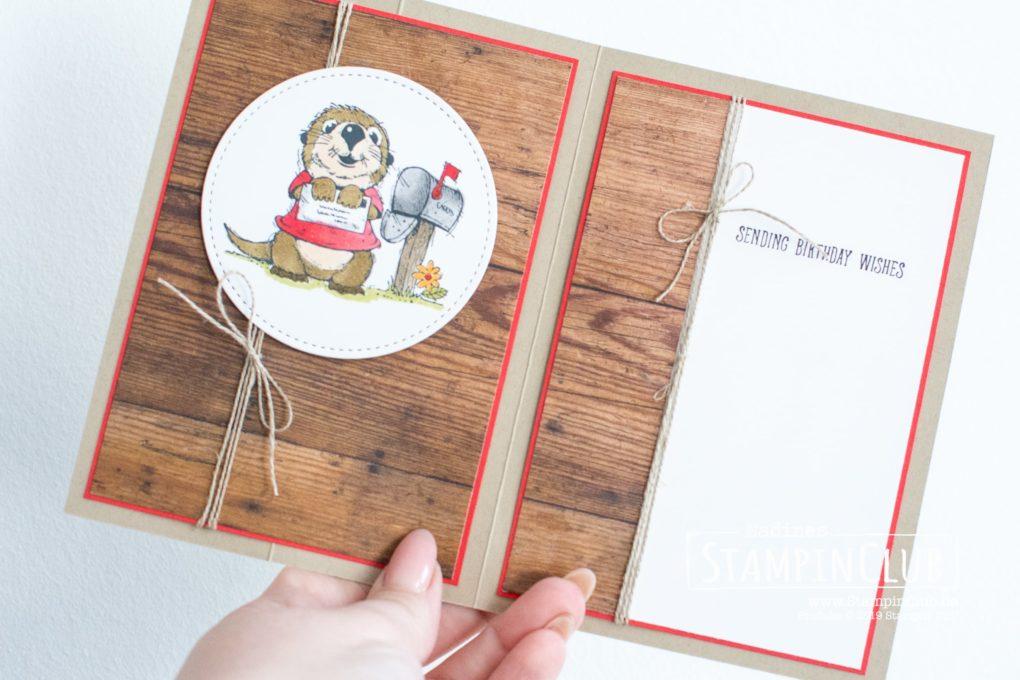 Stampin' Up!, StampinCLub, Postcard Pals