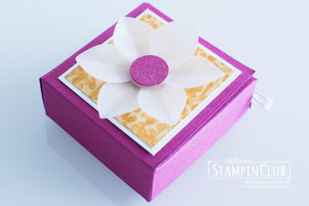 Stampin' Up!, StampinClub, Garten-Impressionen DSP, Stanze Dauerblüher, Wink of Stella