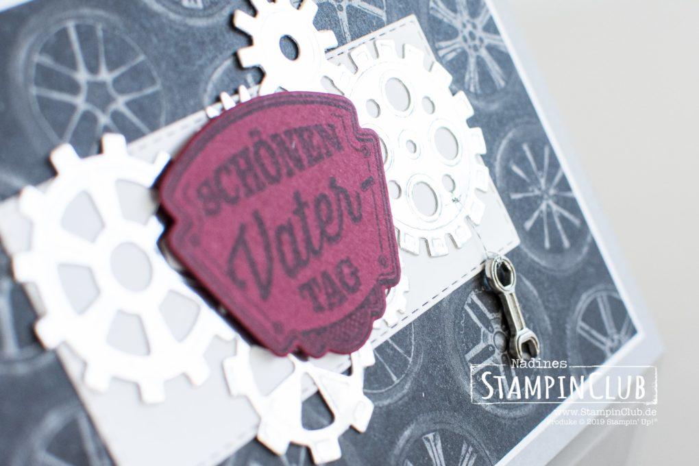 Stampin' Up!, StampinClub, Werkstattworte, Thinlits Formen Werkzeugteile, Designerpapier In der Werkstatt
