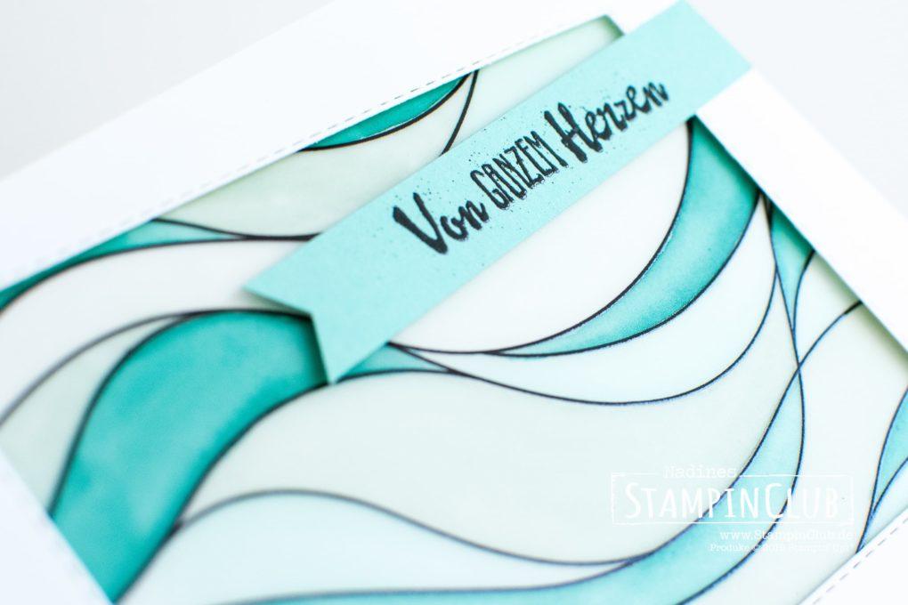 Stampin' Up!, StampinClub, Blütentraum, Stampin' Blends, Designerpergament Fantasie aus Glas