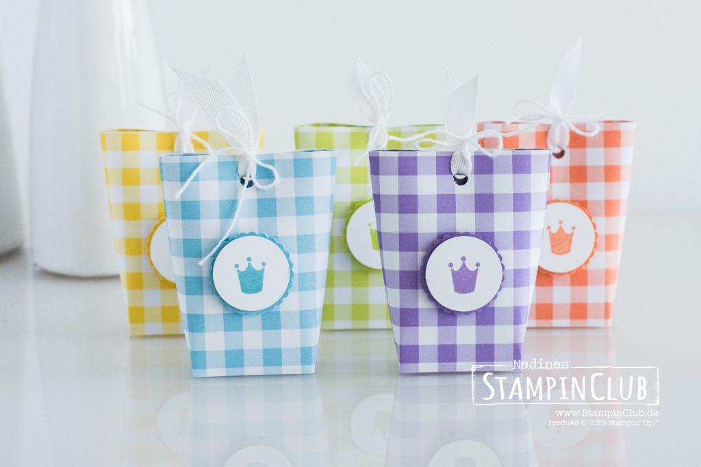 Kurz gefasst, Stampin' Up!, StampinClub, Kurz gefasst, Box in a Bag, Verpackung