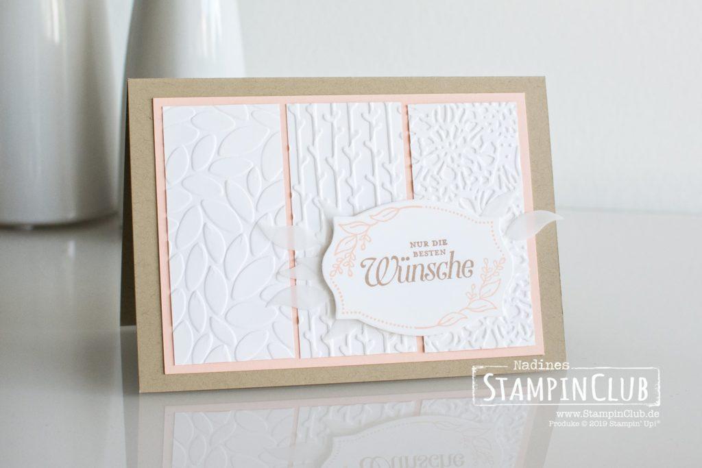 Stampin' Up!, StampinClub, In Blüten gerahmt, Framelits Rankenrahmen, Foliage Frame Framelits, Blättermeer, Florales Duo