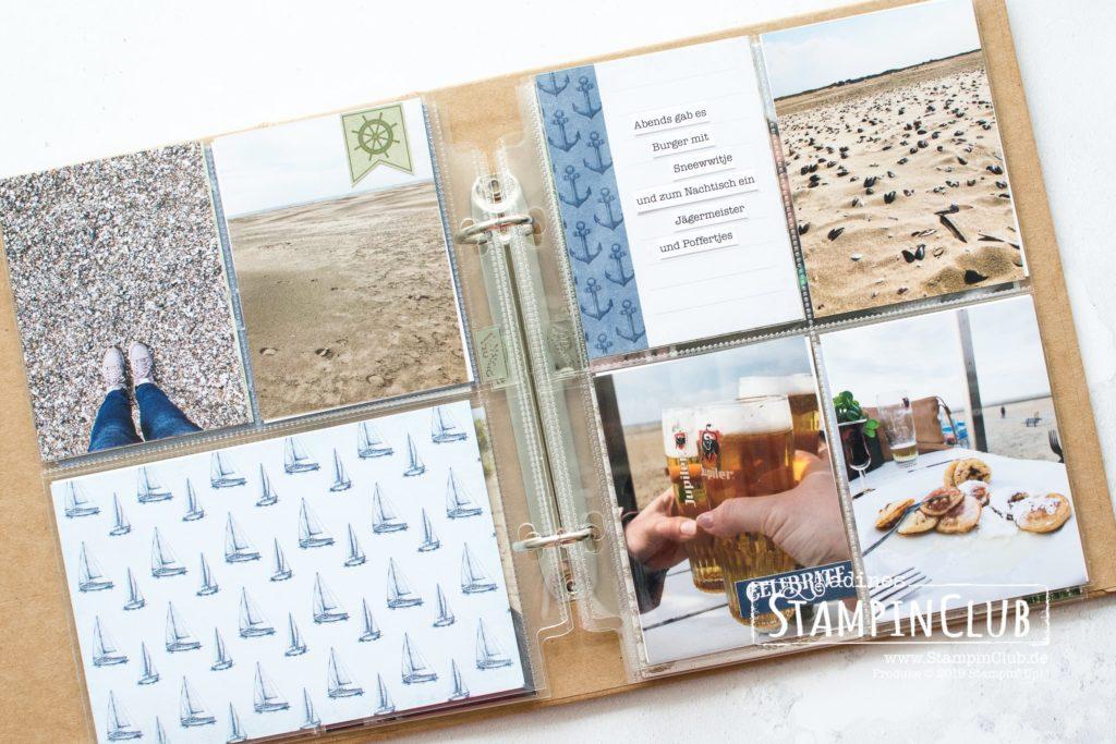 Stampin' Up!, StampinClub, Erinnerungen & Mehr, Karten-Sortiment Meer der Möglichkeiten, Project Life, Memory Keeping