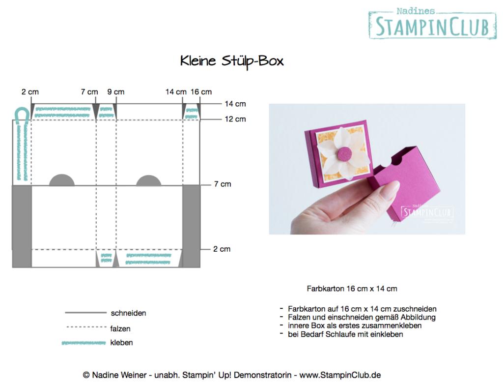kleine Stülp-Box