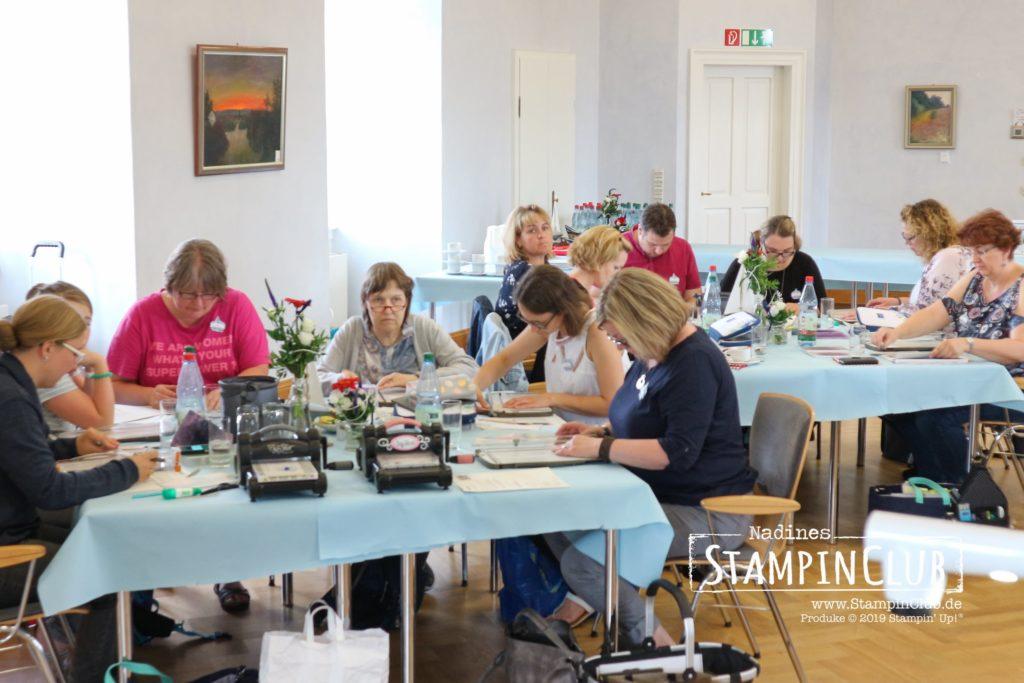 Stampin' Up!, StampinClub, Team StampinClub, Teamtreffen, Demotreffen
