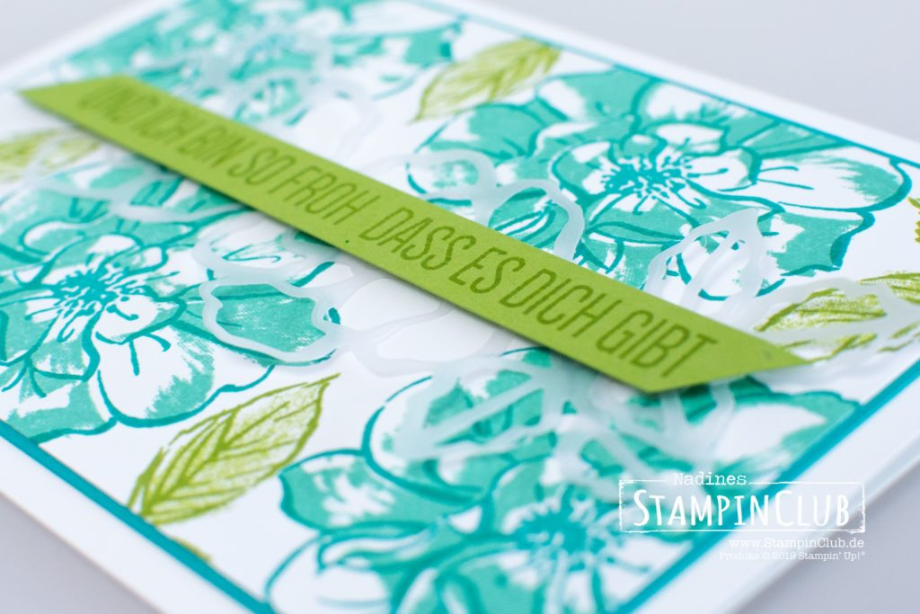 Wilde Rose, Stampin' Up!, StampinClub, Wilde Rose, To a Wild Rose, Stanzformen Wildrosentraum, Wild Rose Dies