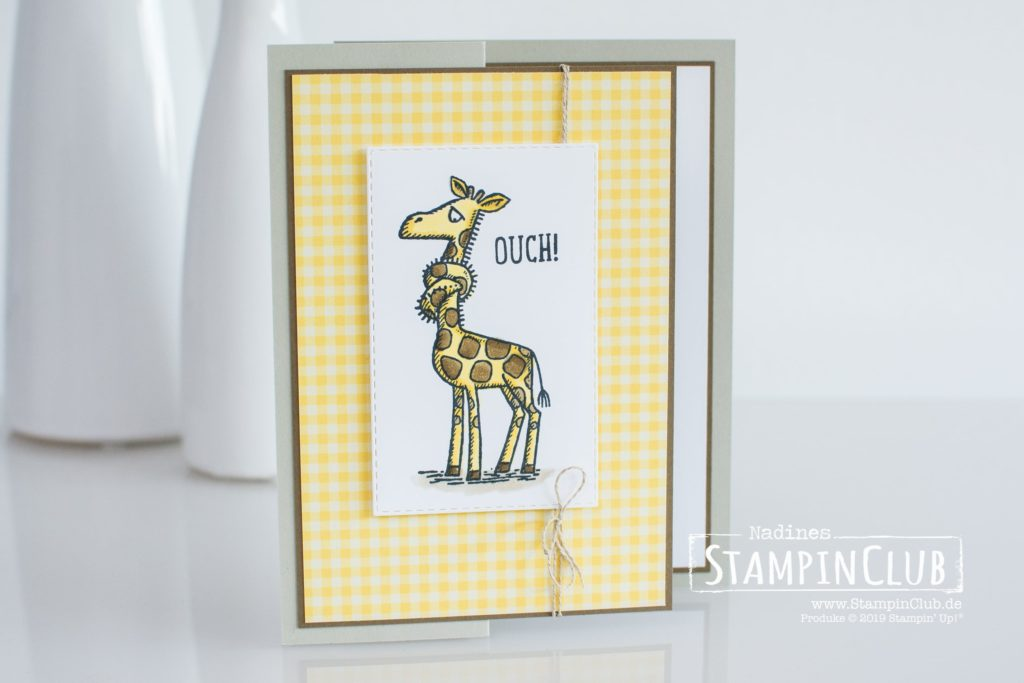 Stampin' Up!, StampinClub, Back on your feet