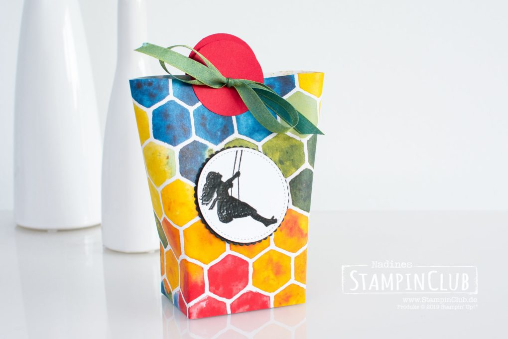 Stampin' Up!, StampinClub, Blox in a Bag, Designerpapier Sanfte Silhouetten, See a Silhouette DSP, Schattenspiele, Silhouette Scenes
