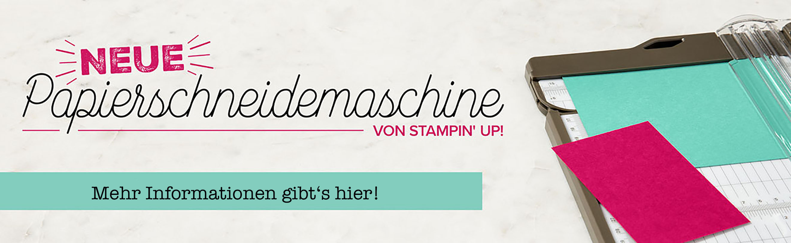 Stampin' Up! Papierschneidemaschine