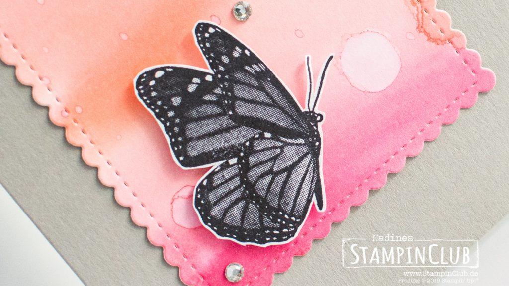 Stampin' Up!, StampinClub, Stanzformen So hübsch bestickt, Stitched So Sweetly Dies, Schwärme voll Glück