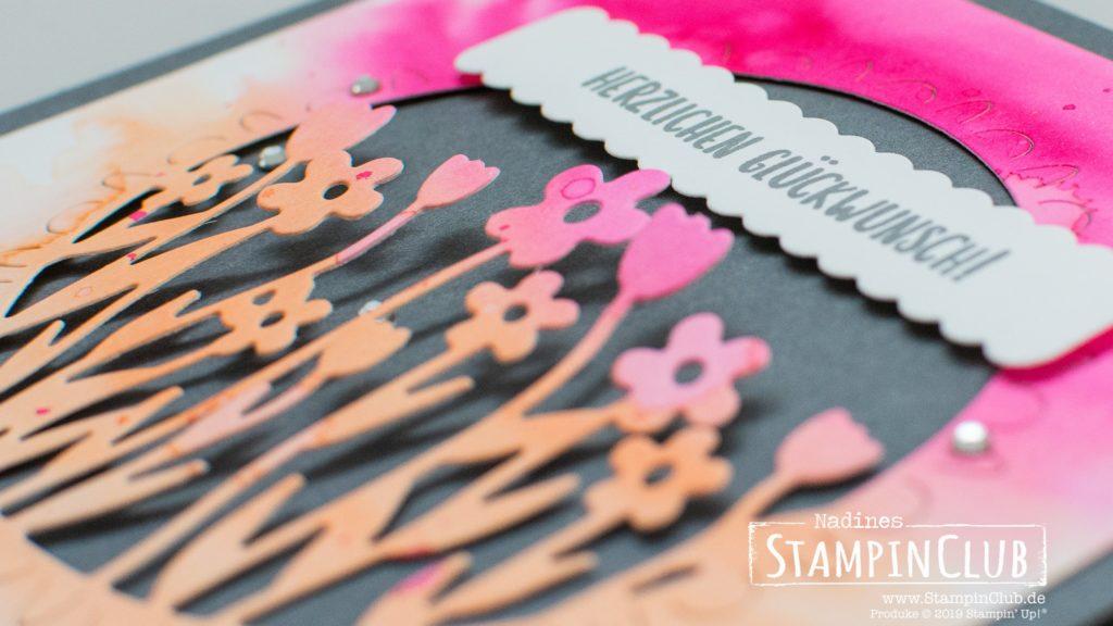 Stampin' Up!, StampinClub, Sale-A-Bration, 2020, Stanzformen Blumenwiese, Sending Flowers Dies