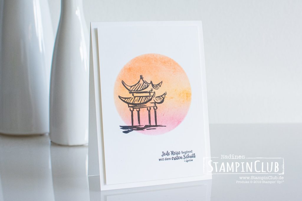 Stampin' Up!, StampinClub, Simple Stamping, Glück und Liebe, Power of Hope